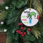 Ceramic Christmas Ornament - Stink Stank