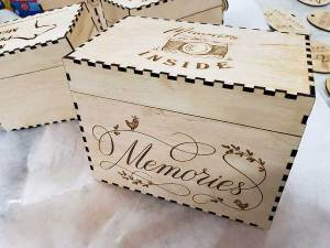 Photo Memory Box Engraved