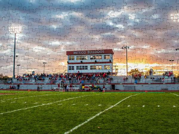 Mexico High School Football Field puzzle