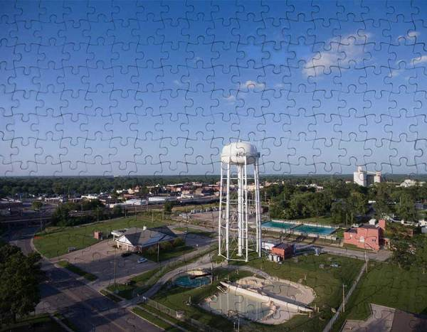 water tower puzzle mexico mo
