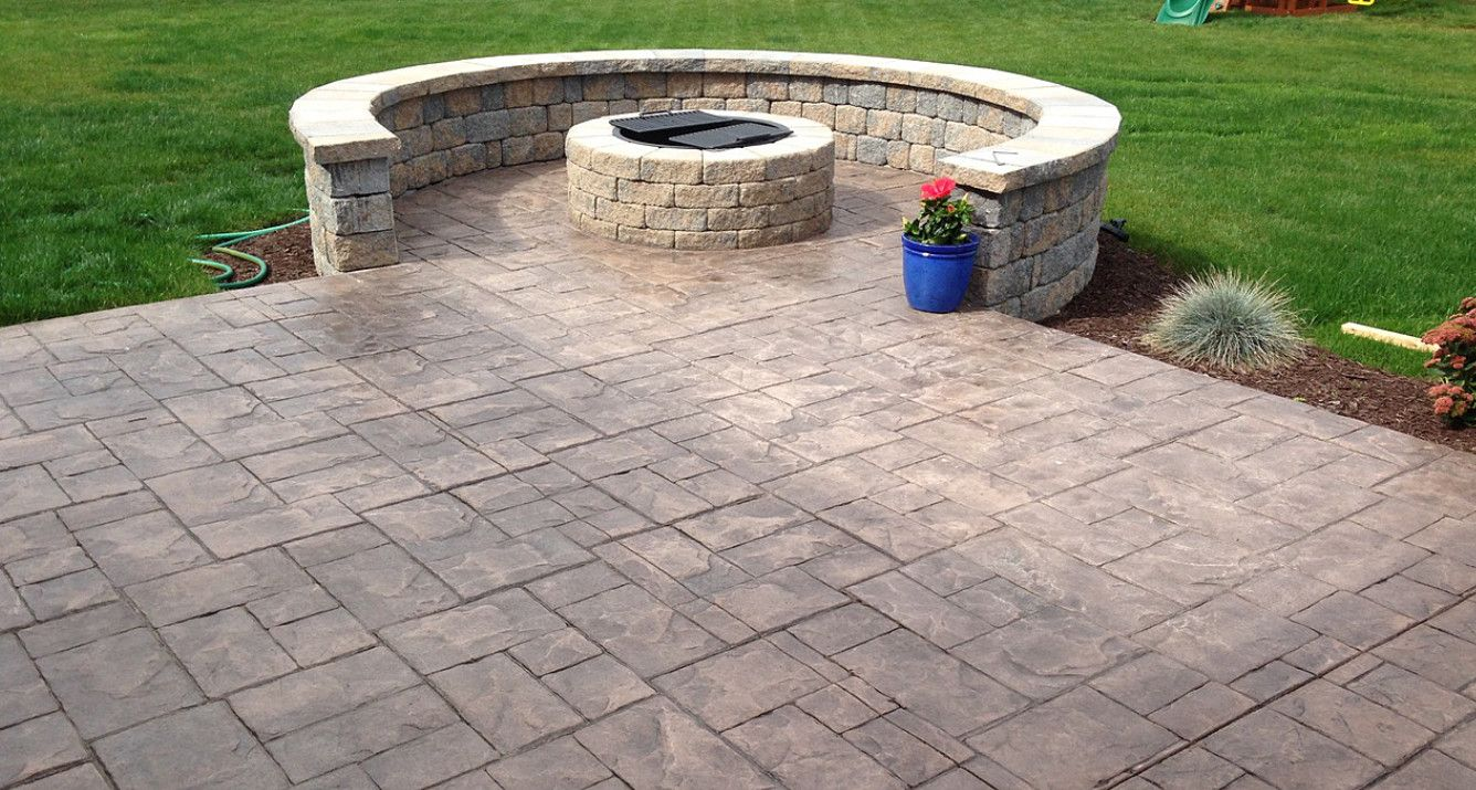 stamped concrete contractors rochester