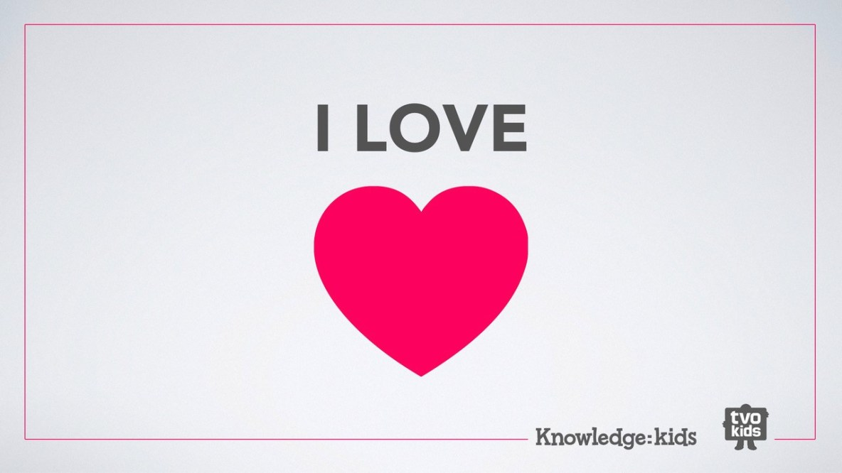 i love to be