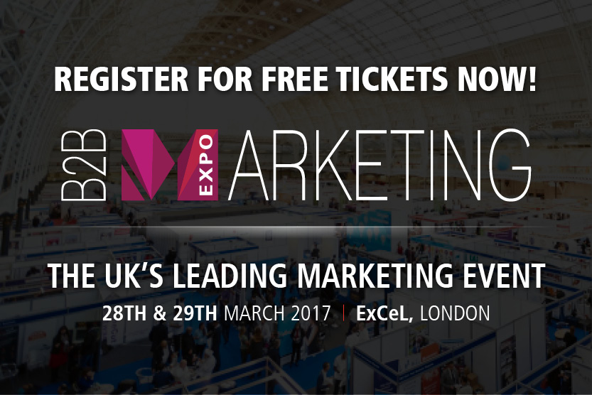B2B marketing show London xl March 2017