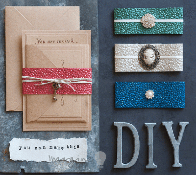 How To Make... Wrap Invitations