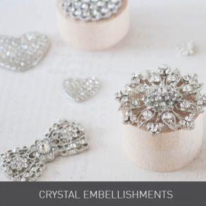 Wedding ideas. Luxury DIY wedding stationery. How to make your own wedding stationery. Crystal decorations and embellishments