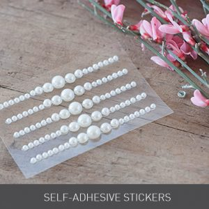 stickers self adhesive pearls crystals wedding