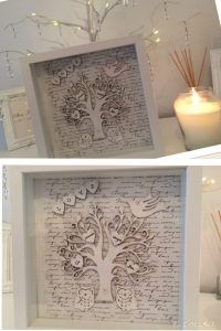 family tree gift by Jessica Govertt winner of Imagine DIY design competition