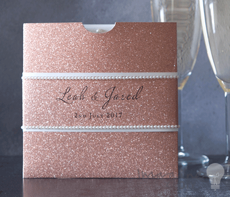 Square glitter wallet rose gold square wallet for diy wedding blank glitter invitation pockets rose gold glitter invitation wallet diy wedding invitations uk solutioingenieria Image collections