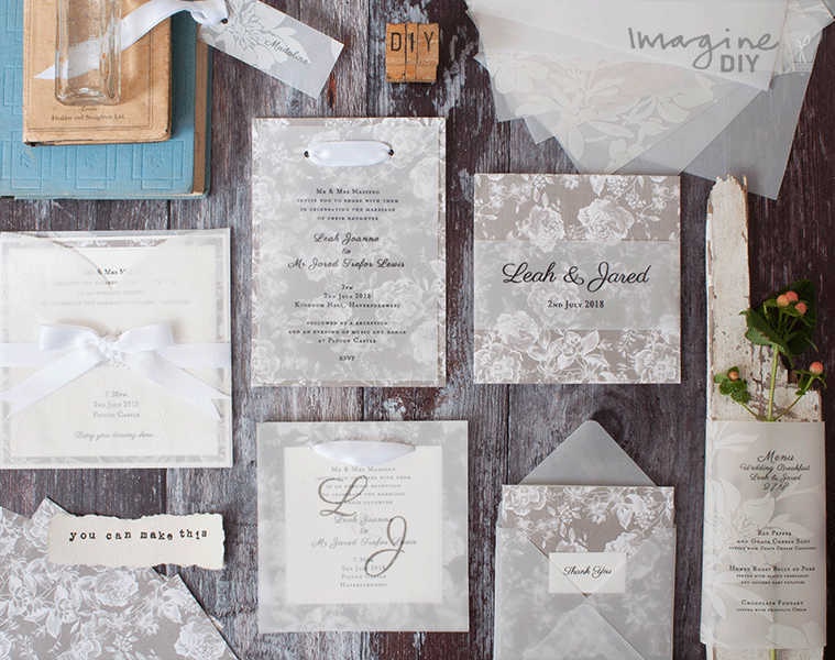 grey_floral_diy_wedding_stationery_with_vellum
