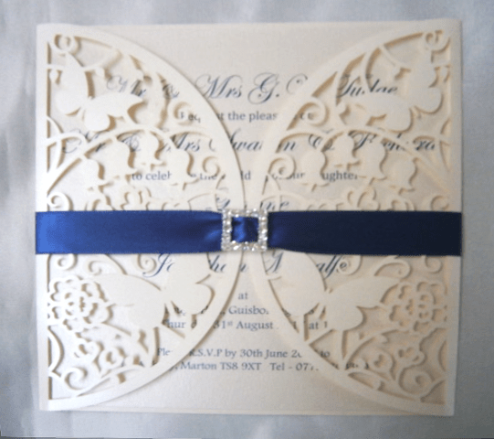 wedding invitations made by Ginger Button Designs