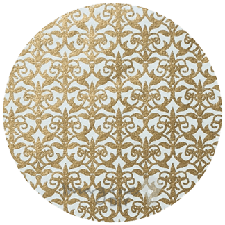 Majorelle Lustre paper n ivory and gold. Moroccan inspired paper. Luxury decorative paper for DIY wedding invitations, stationery, card making and crafts