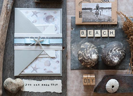 Beach Themed Wedding Invitations Uk: How To Make... Beach Theme Wedding Invitation