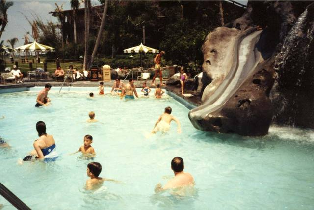 Disney Polynesian pool