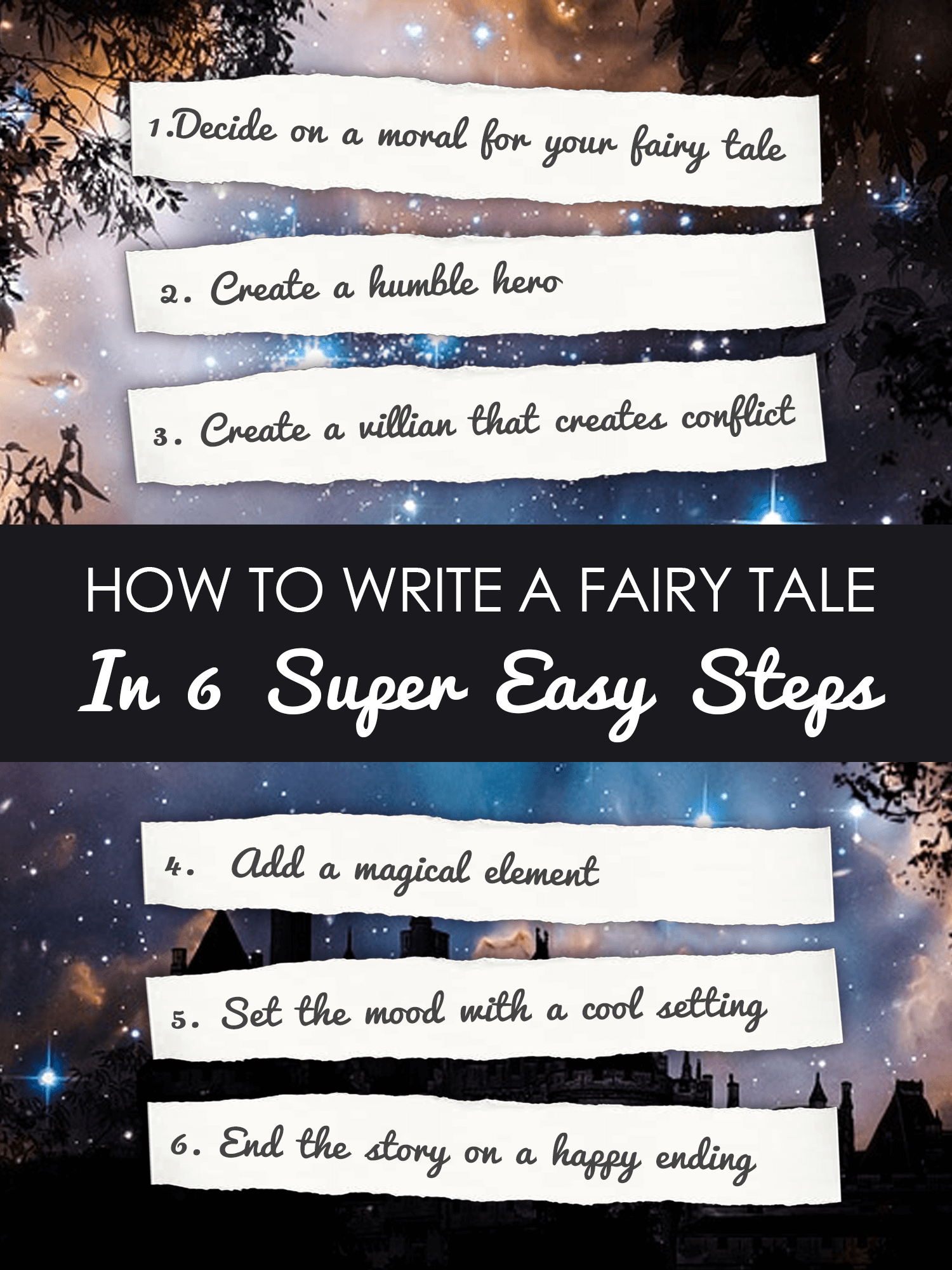 How To Write A Fairy Tale In 6 Steps