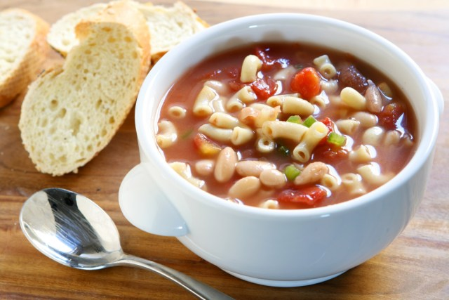 Pasta Fagioli (Italian Chili with Pasta and Beans)