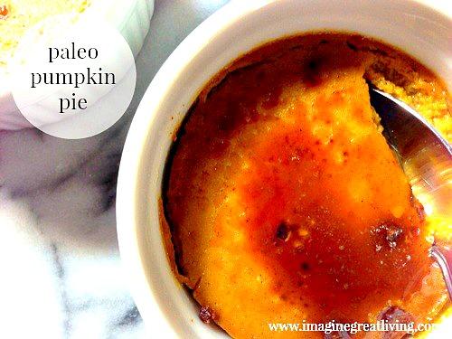 Paleo Pumpkin Pie --an amazingly delicious gluten free and dairy free dessert