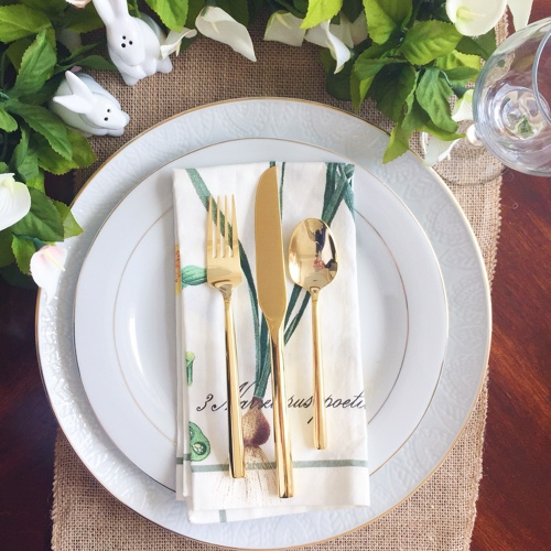 Simple Easter Table Ideas