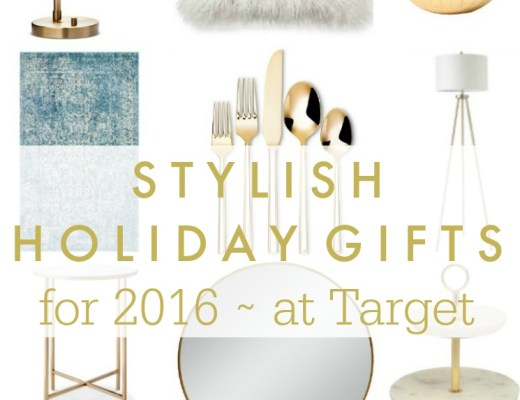 Stylish Christmas Gift Ideas from Target