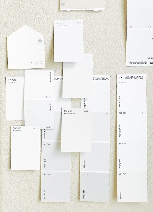 How to choose the perfect white paint color