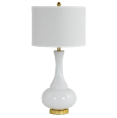 White Table Lamp Image