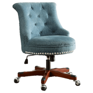 Tufted Office Chair Image