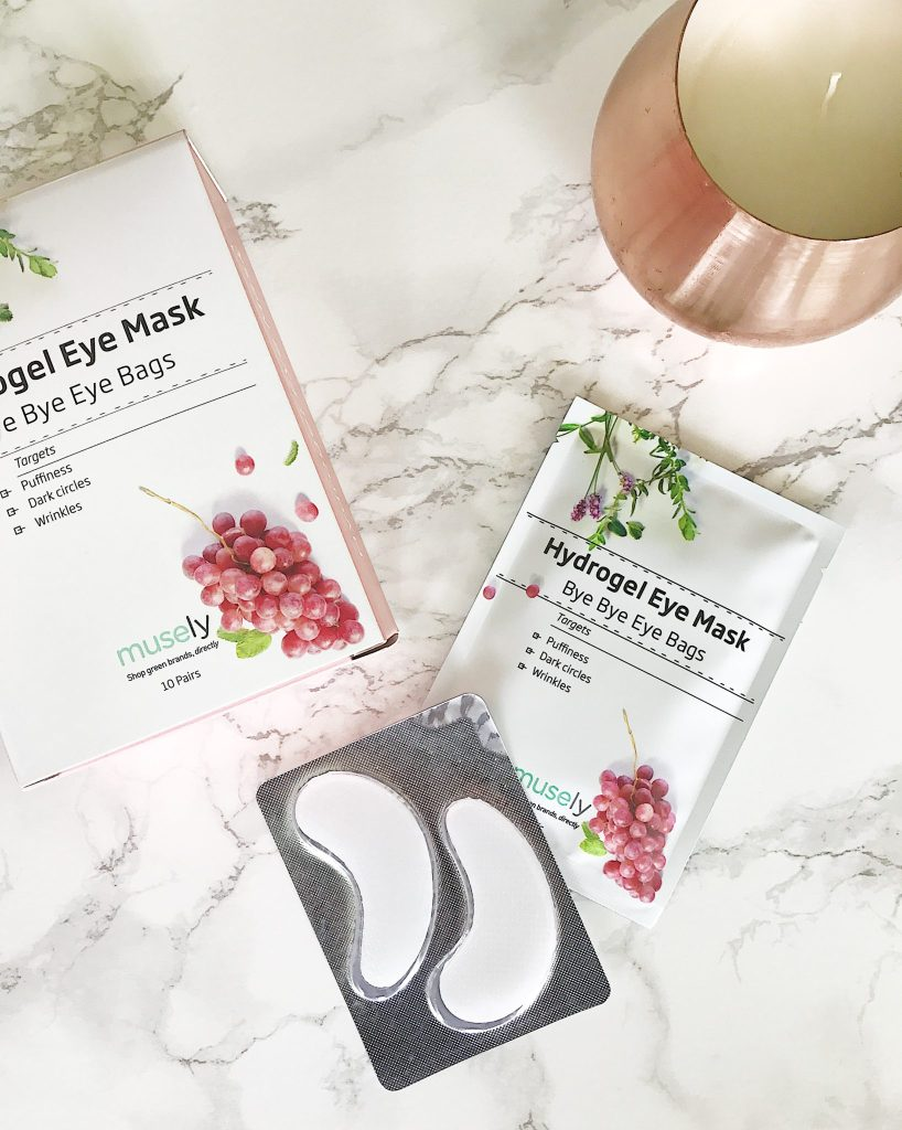 Say goodbye to eye bags with this hydrogel eye mask from Musely