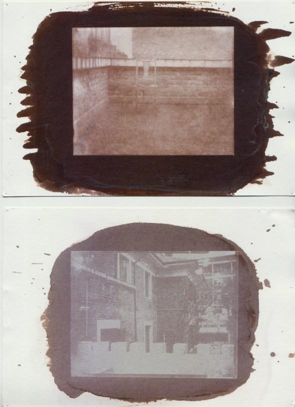 De Bárbara Simonetti. Cópia em papel salgado a partir de calótipo.