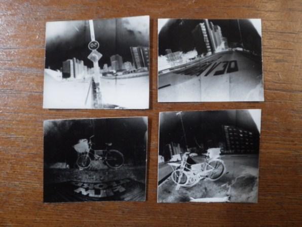 Fotos feitas em Pinhole no Minhocão