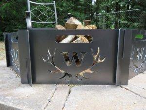 Custom Antler Fire Pit