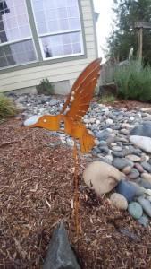Outdoor Metal Garden Art
