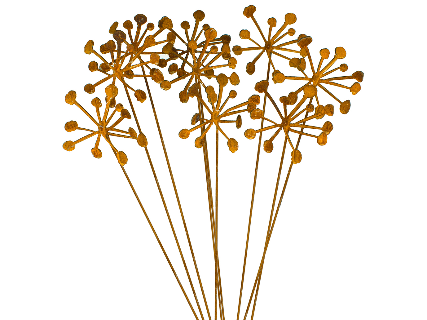 metal flower pods