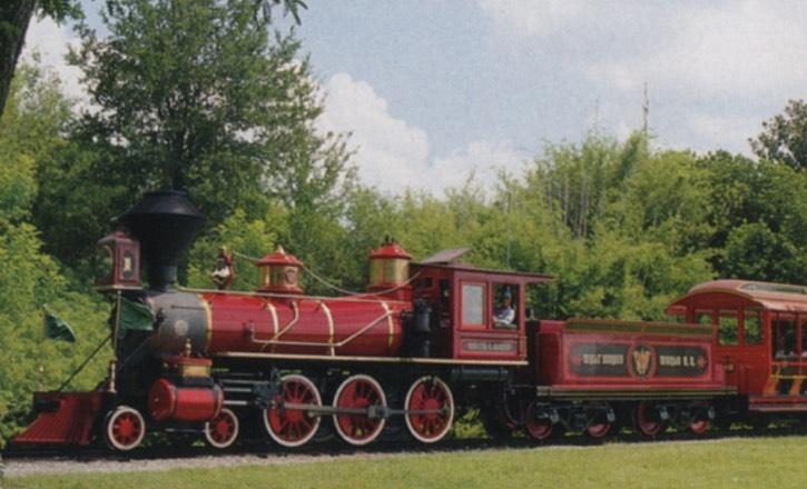 Walt Disney World Railroad, a History