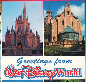 WYWHW: Greetings from Walt Disney World Postcard