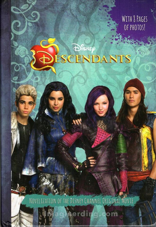 Disney Descendants Novelization by Rico Green disney books