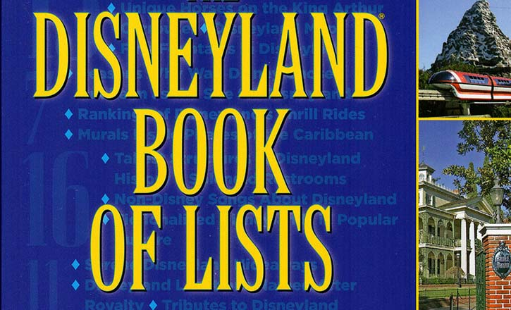 Disneyland Book of Lists Review