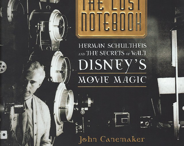 Lost Notebook Herman Schultheis and Disney