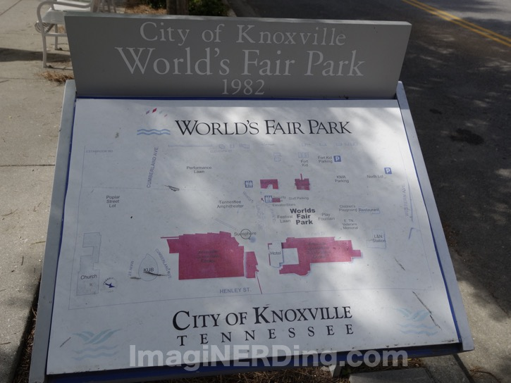 knoxville worlds fair map