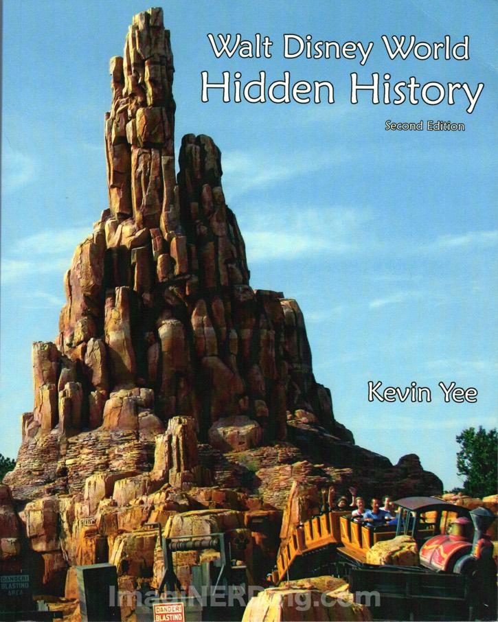 walt disney world hidden history cover kevin yee