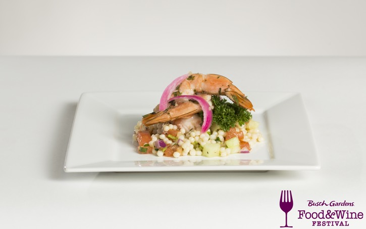 2016_Busch Gardens Food and Wine Festival_Pickled Shrimp with Cous Cous