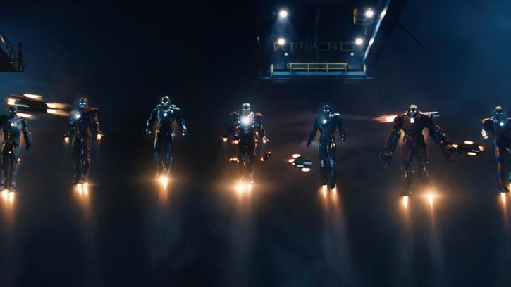 Iron Man 3 Iron Man Suits Photo Credit: Film Frame ©Marvel Studios 2013