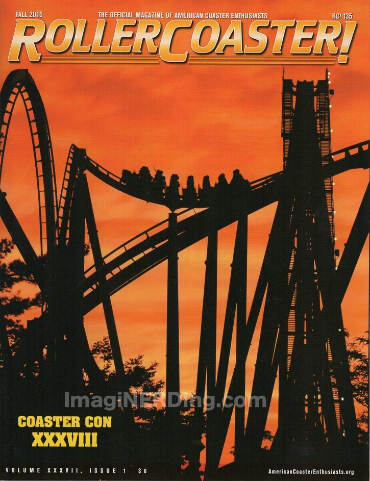 roller coaster magazine