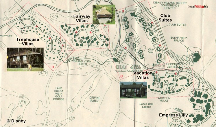 Lake Buena Vista Community map