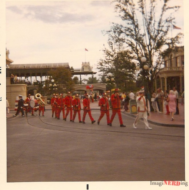 vintage magic kingdom photos Walt Disney World Band on Main Street, USA!