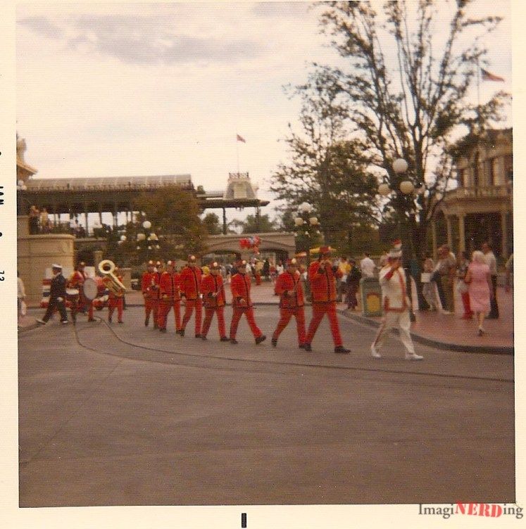 vintage magic kingdom photos Walt Disney World Band on Main Street, USA!