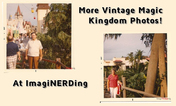 More Vintage Magic Kingdom Photos from 1973!