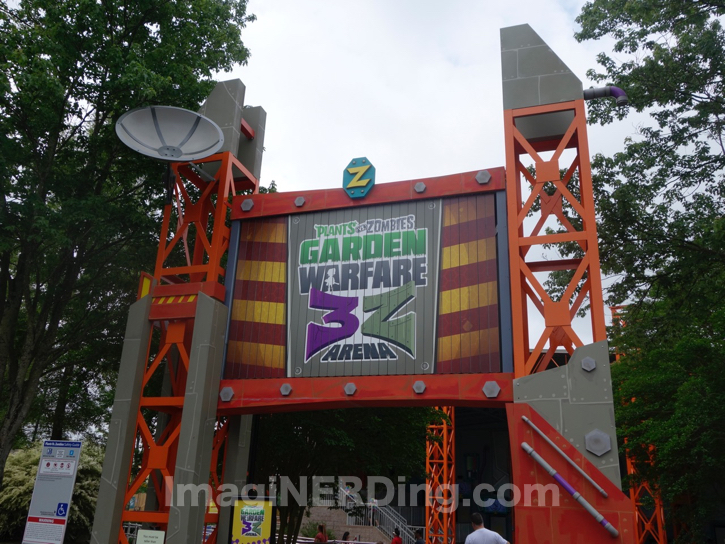 Plants vs Zombies Update at Carowinds