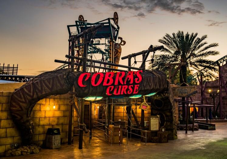 Cobra's Curse Queue Photos