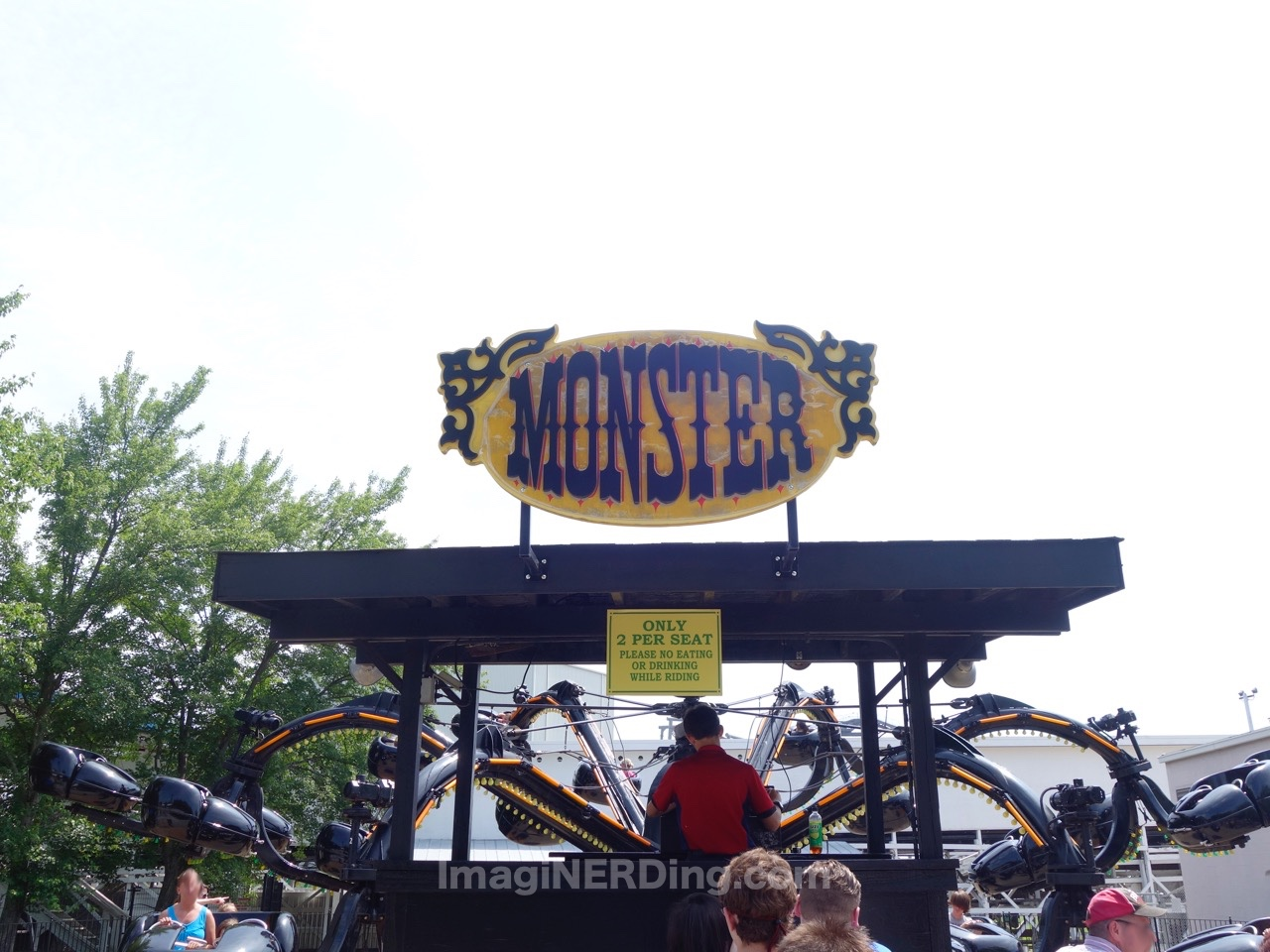 monster at kings island imaginerding