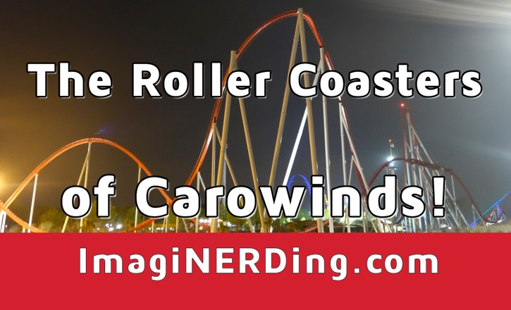 carowinds roller coasters