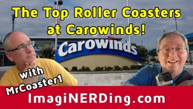 top roller coasters at carowinds